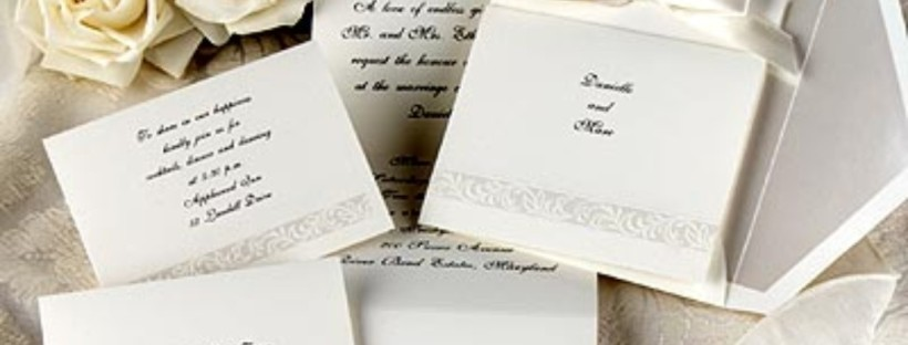 Jamaican wedding invitation