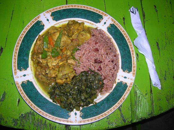Jamaican Curry Chicken and