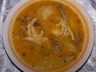 Jamaican Chicken Foot Soup Recipe Home Jamaicanscom Dinocro Info