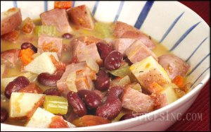 Jamaican Red Bean soup