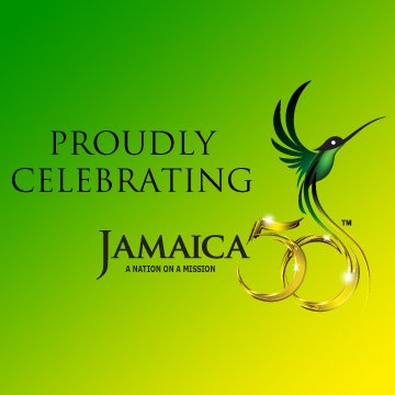 jamaica 50 official logo