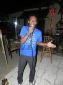 Jawara Ellis performing at Rhap.so.dy