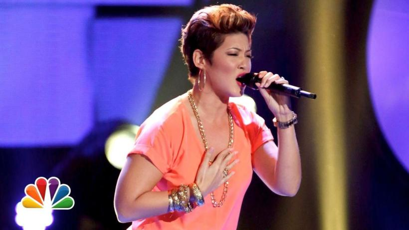 Tessanne Chin on NBC The Voice