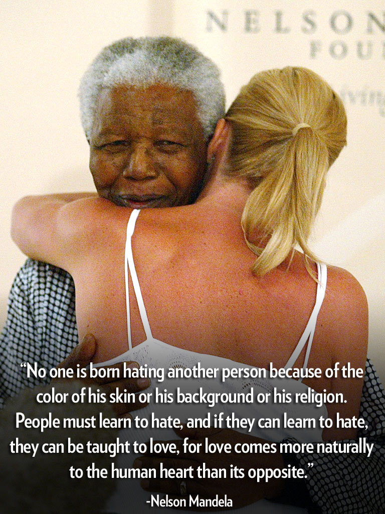 Mandela Quotes About Love Nelson Mandela And His Wisdom Quotes  The Island Journal