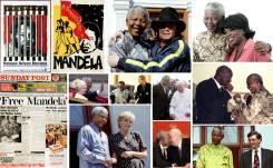 Nelson-Mandela and celebrities