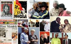 Nelson-Mandela and celebrities