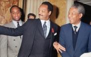 Nelson Mandela and Jesse Jackson