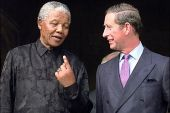 Nelson Mandela and Prince Charles