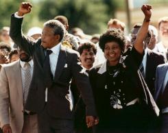 Nelson Mandela and Winie mandela