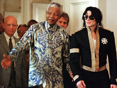 Nelson Mandela & Michael Jackson 2