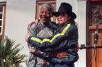 Nelson Mandela & Michael Jackson