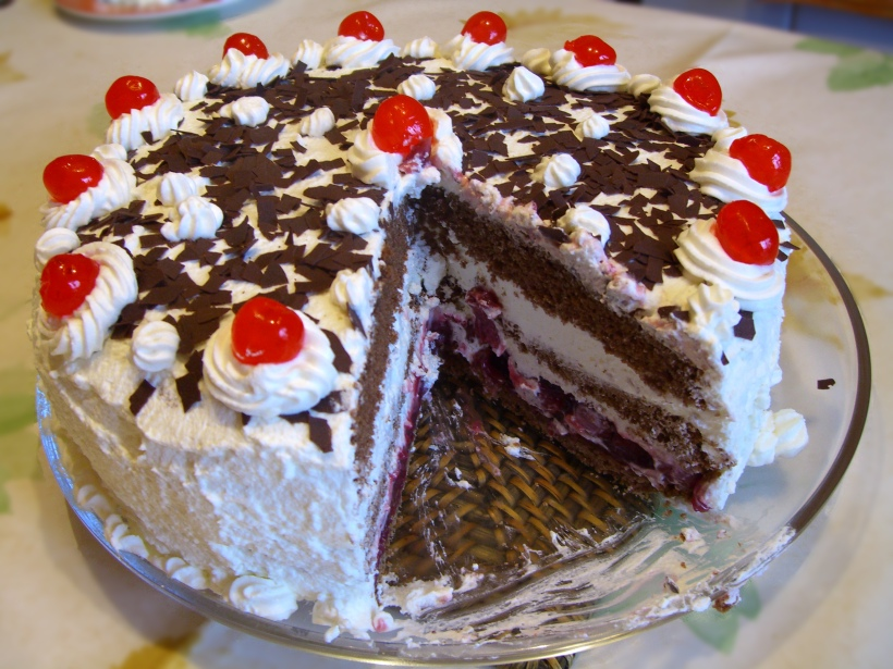 Jamaican Black-Forest-Cake