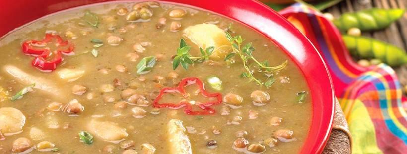 Jamaican Gungo Peas Soup