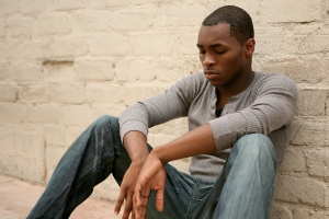 African-American-Male-Depressed