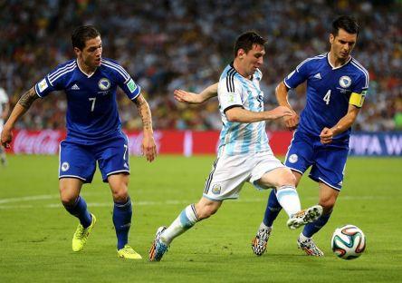 Argentina  1 vs. 0 Bosnia