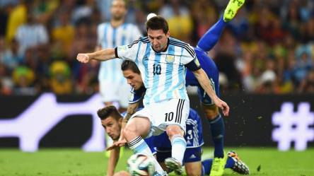 Argentina's Lionel Messi at 2014 FIFA World Cup