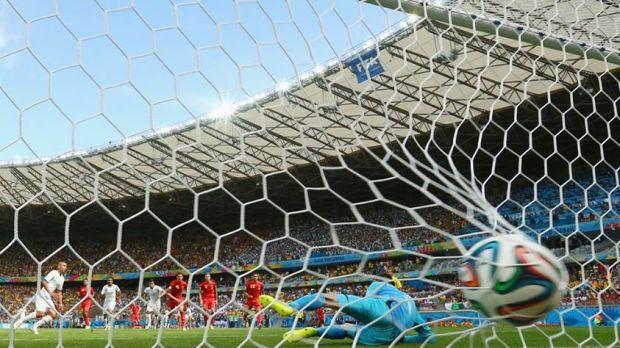 2014 FIFA World Cup - BELGIUM 0-1 ALGERIA goal