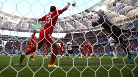 2014 FIFA World Cup - France's Olivier Giroud's opener was the country's 100th World Cup goal.
