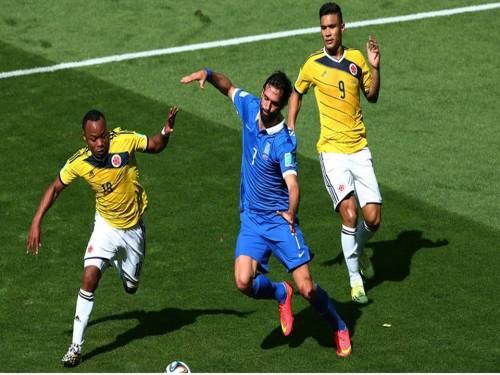 2014 FIFA World Cup - Colombia 3 vs. 1 Greece