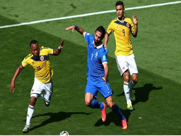 2014 FIFA World Cup - Colombia 3 vs. 1 Greece