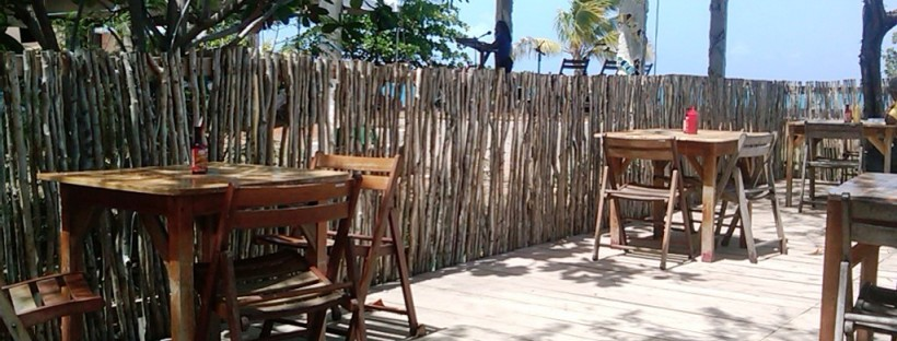 Eating area at Jack Sprat at Treasure Beach