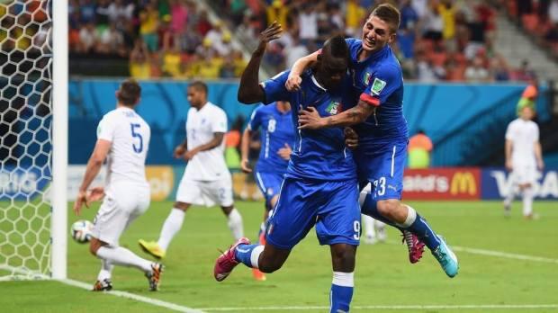 Italy 2 vs 1 England