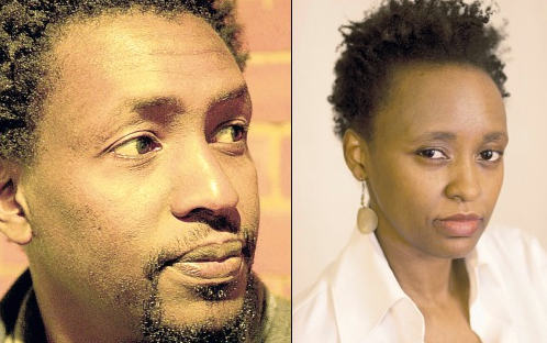 Wanjuki wa Ngugi and the poet and novelist Mukoma wa Ngugi