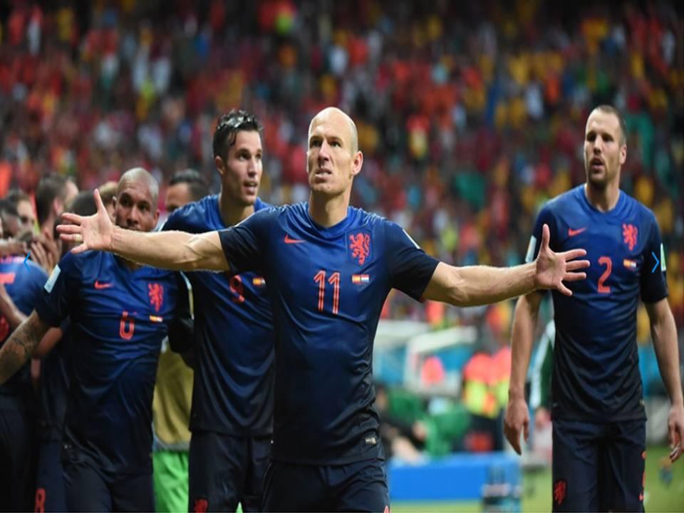 Spain 1 vs. 5 Netherlands
