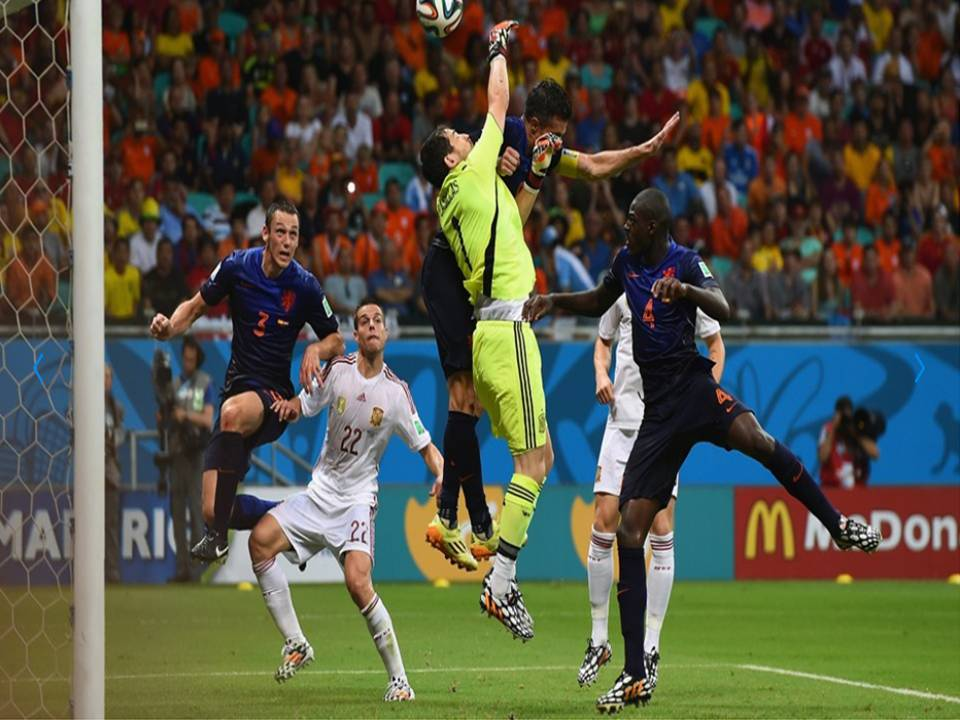 2014 FIFA World Cup - Spain 1 vs. 5 Netherlands