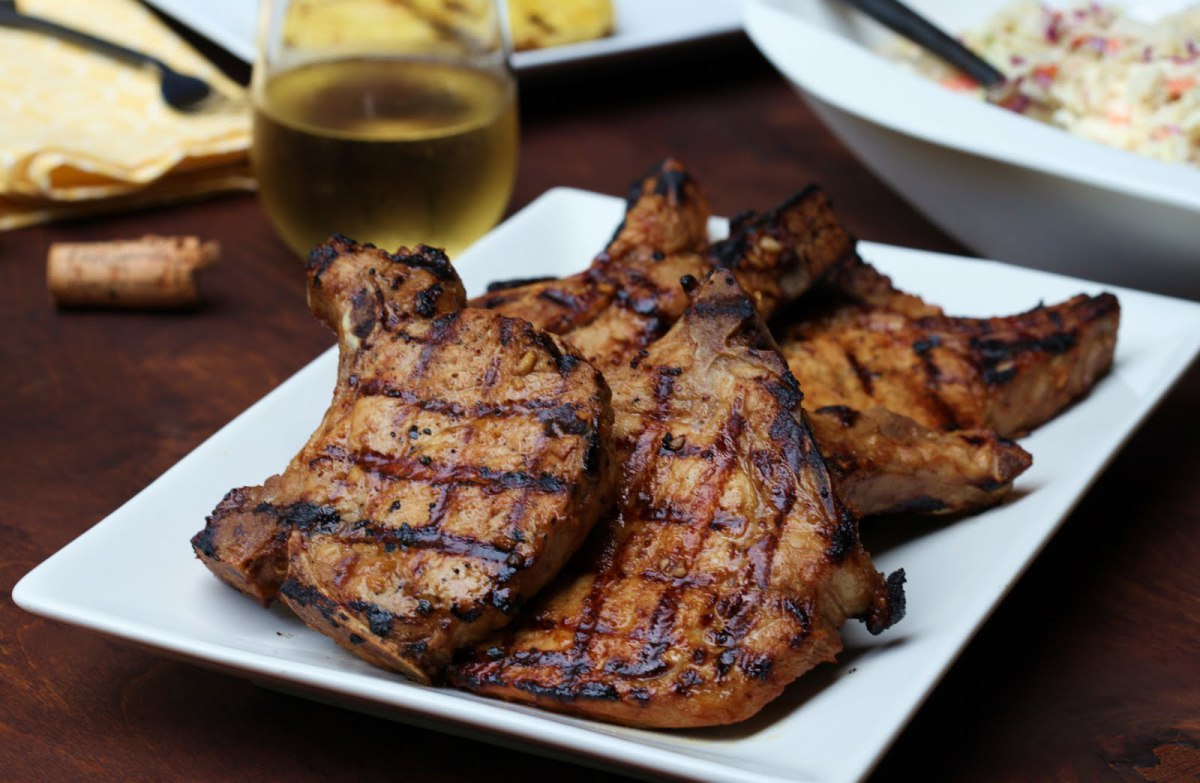 Jamaican Food / Recipes: Golden Pork Chops