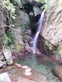 Waterfalls at Rafjam Bed and Breakfast. Courtesy of Poetess Denise Fyffe
