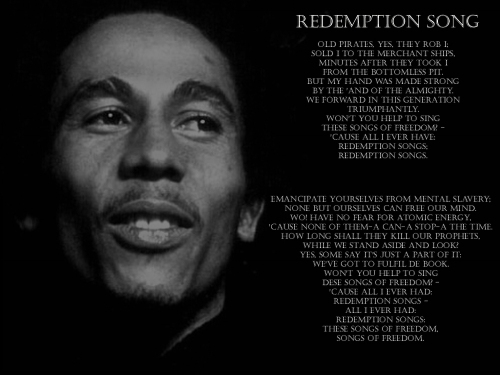 Bob Marley redemption-song courtesy of petchary