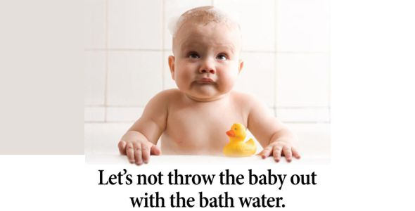 Life in the 1500s - Don't Throw the Baby Out With the bathwater