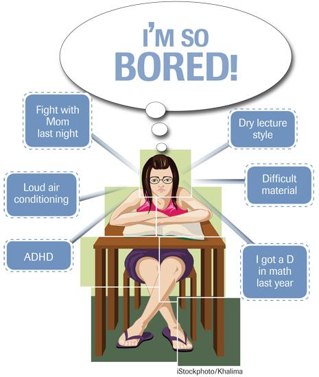 Classroom boredom courtesy of www.edweek.org