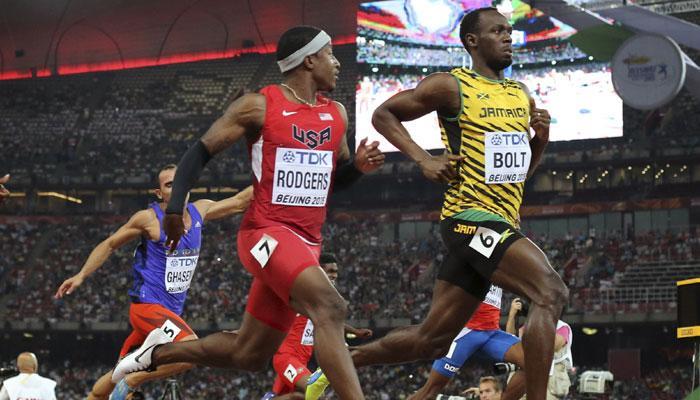 IAAF 100m usain-bolt