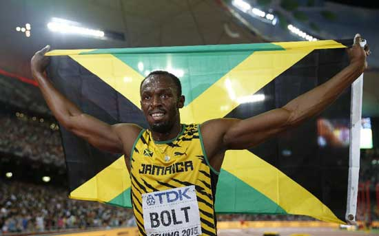 Usain Bolt IAAF 2015 100m winner
