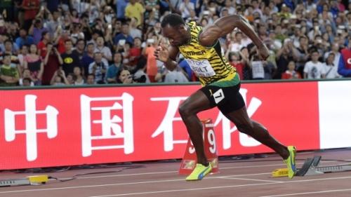 Usain Bolt IAAF 2015 200m winner