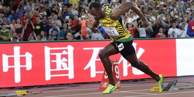 Usain Bolt IAAF 2015 200m winner