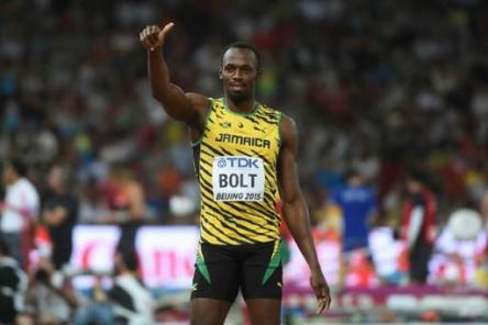 Usain Bolt IAAF 2015 winner