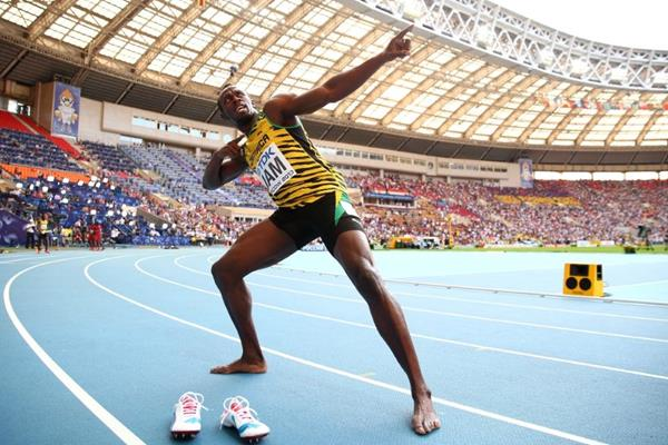 Usain Bolt IAAF World Championships