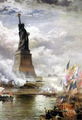 edward-moran-statue-liberty image courtesy of neatorama-com