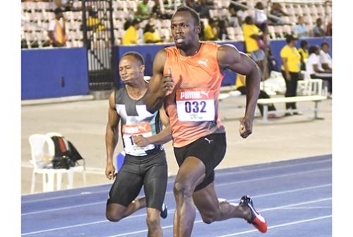 Usain Bolt Jamaica Trials photos by Bryan Cummings