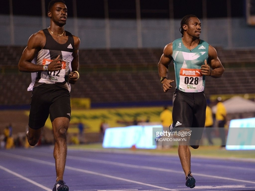 yohan blake jamaica national trials 100m winner