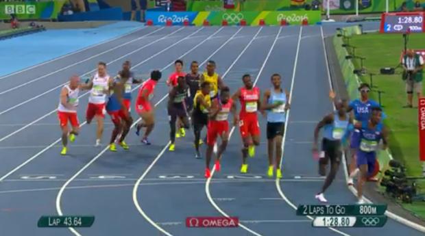 4x400m Relay Men Final.18