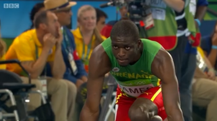 Kirani james at rio olympics finals 400m