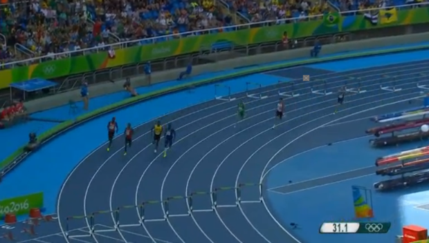 Men's 400m Hurdles Final.20