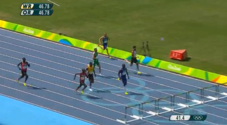 Men's 400m Hurdles Final.30