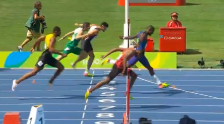 Men's 400m Hurdles Final.49