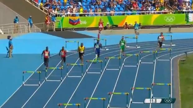 Men's 400m Hurdles Final00