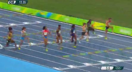 Nickiesha Wilson at the rio olympics (3)